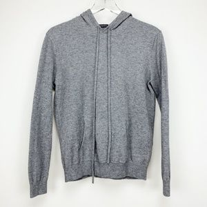 BRANDY MELVILLE Gray Hooded Sweatshirt